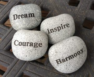 dream Courage Inspire Harmony