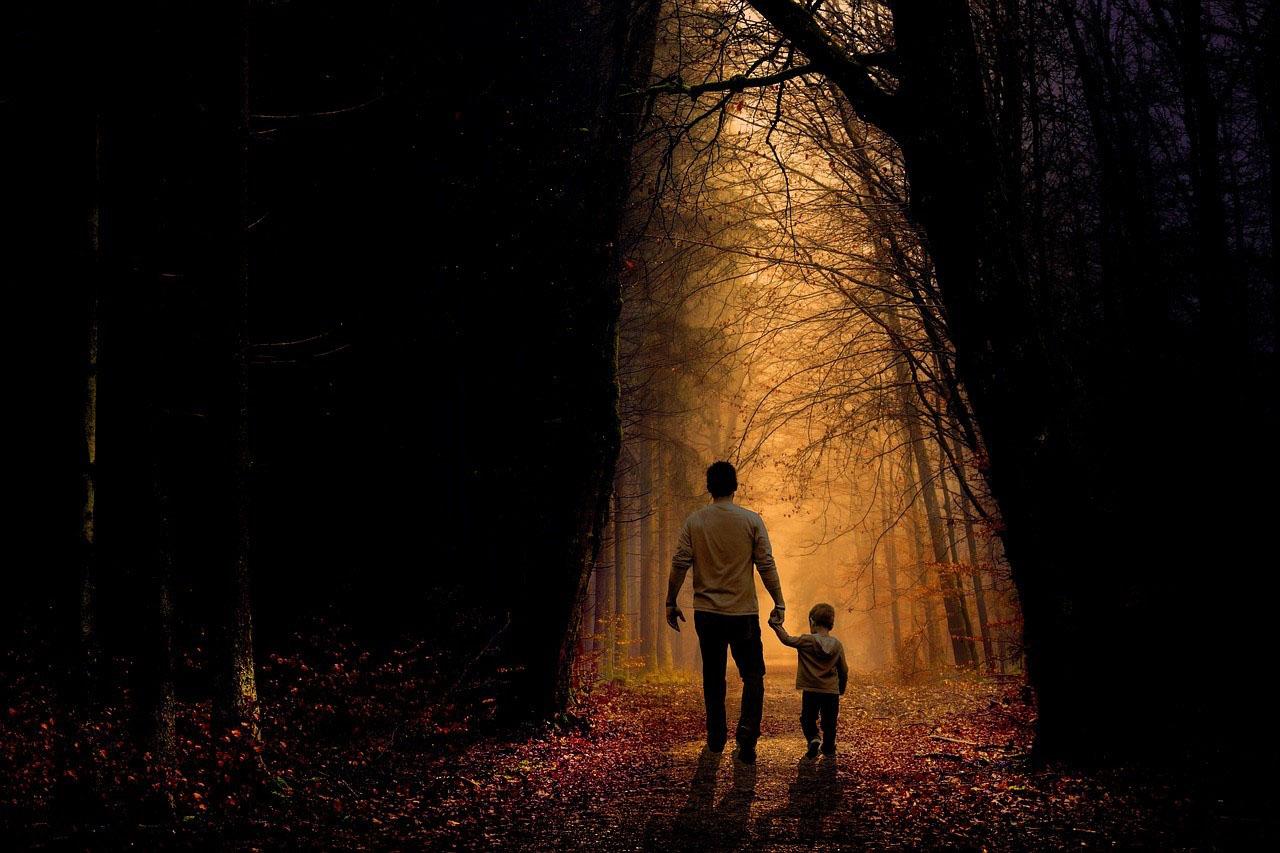 coaching ou thérapie un papa et son fils