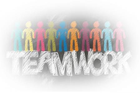 teamwork, communication en entreprise